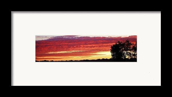 Days End Framed Print By Bruce Bley
