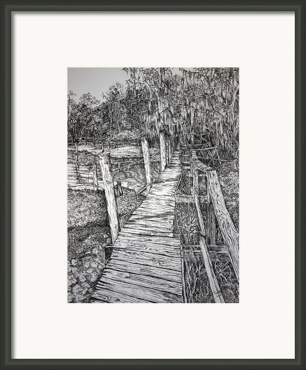 Days Gone By Framed Print By Janet Felts