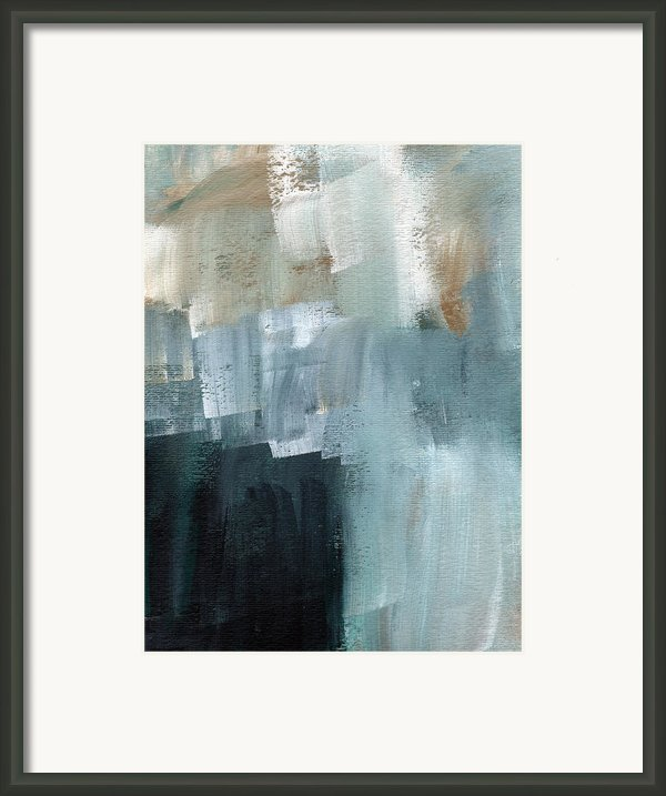 Days Like This - Abstract Painting Framed Print By Linda Woods
