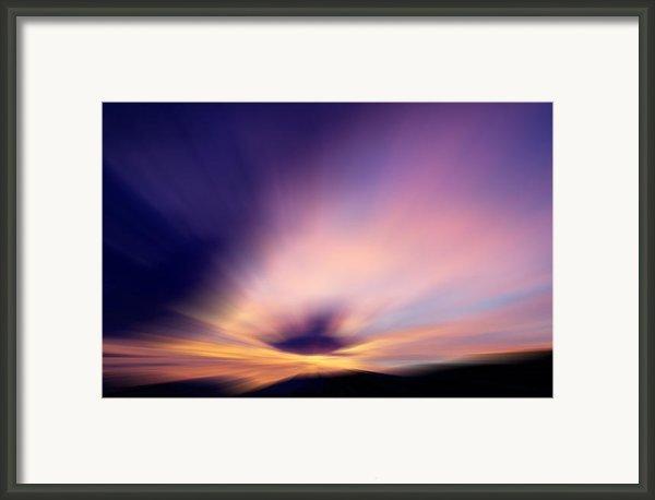 Dazzlingly Framed Print By Kevin Bone
