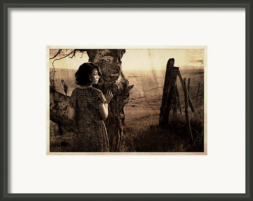 Dear Norma Framed Print By Theresa Tahara