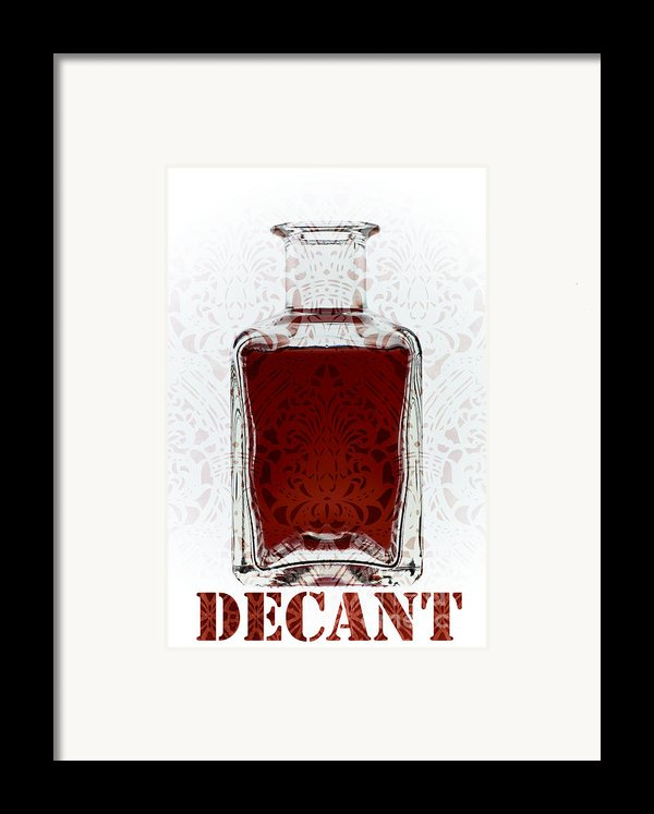 Decant Framed Print By Frank Tschakert