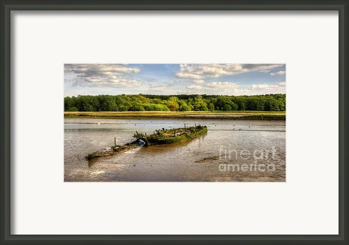 Decay Boats Framed Print By Svetlana Sewell