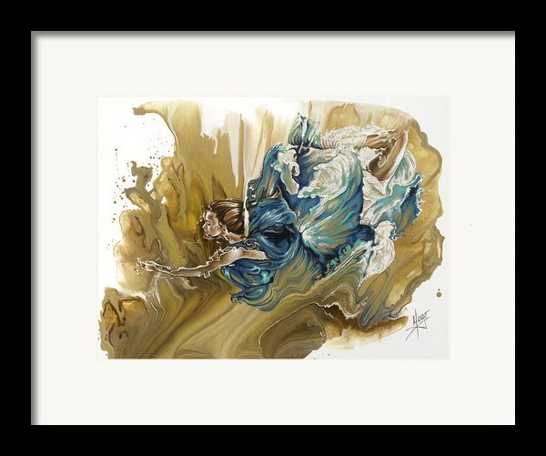 Deliver Framed Print By Karina Llergo Salto