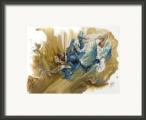 Deliver Framed Print By Karina Llergo Salto