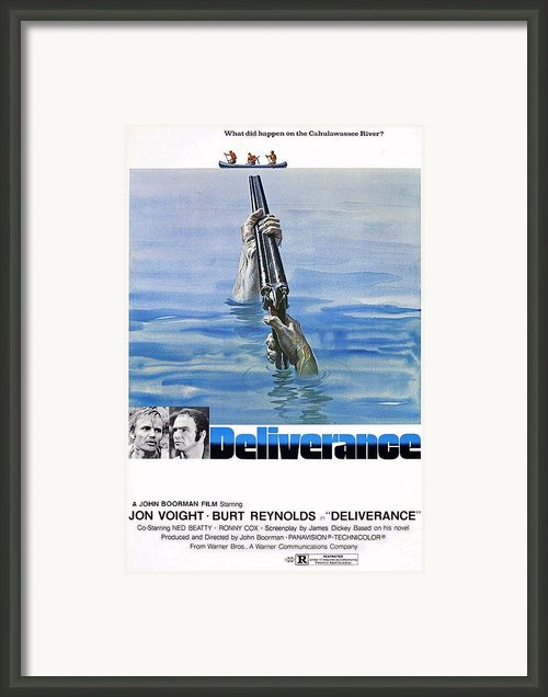 Deliverance Framed Print By Movie Poster Prints