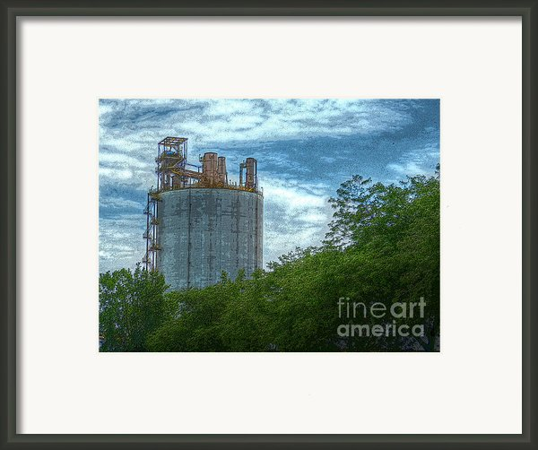 Delray Tower Framed Print By Mj Olsen