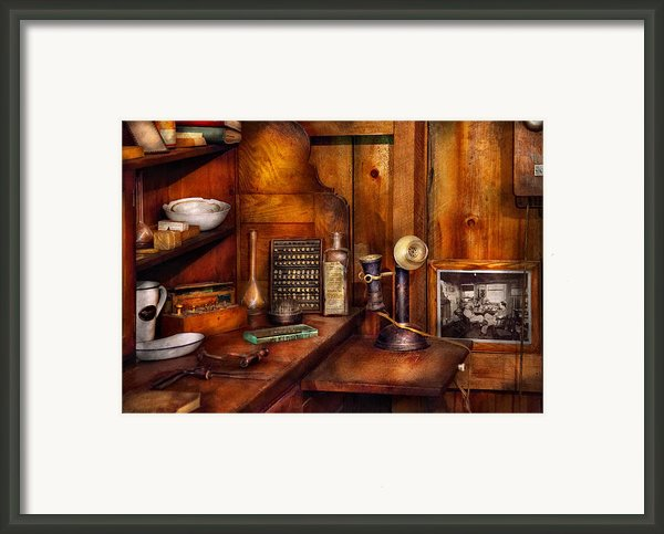 Dentist - Time For Your Next Appointment  Framed Print By Mike Savad