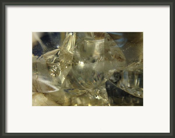 Depths Within Framed Print By Gaby Tench