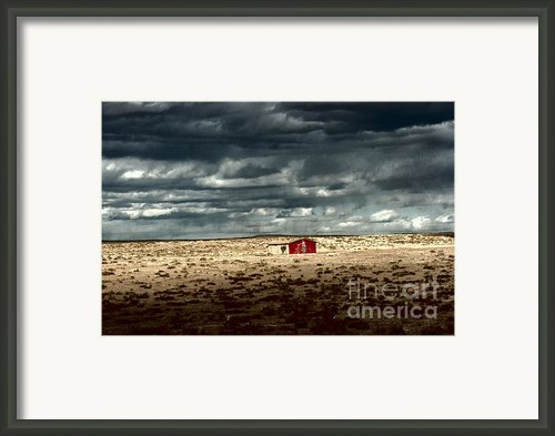 Desert Landscape Framed Print By Julie Lueders