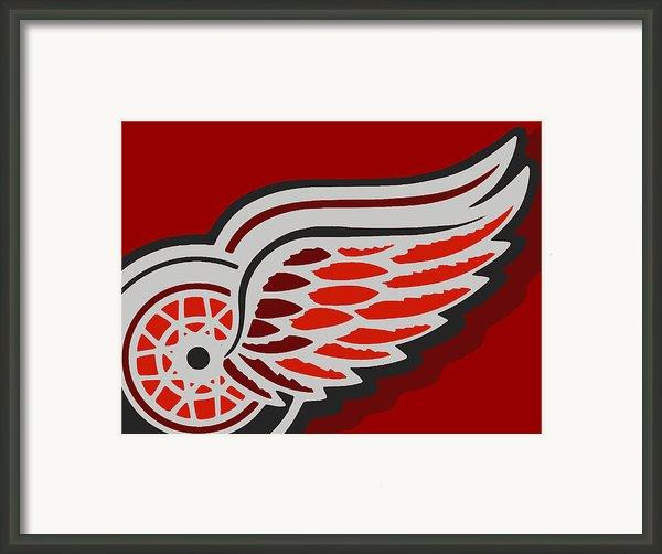 Detroit Red Wings Framed Print By Tony Rubino