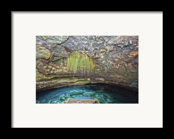 Devils Den  Framed Print By Charles Warren