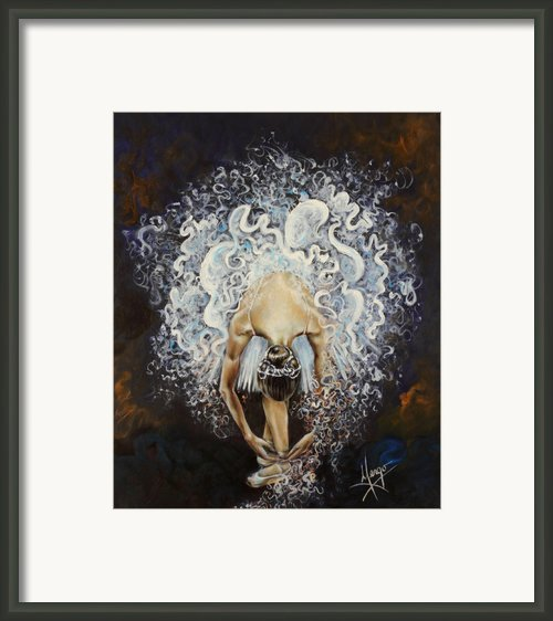 Devotion Framed Print By Karina Llergo Salto