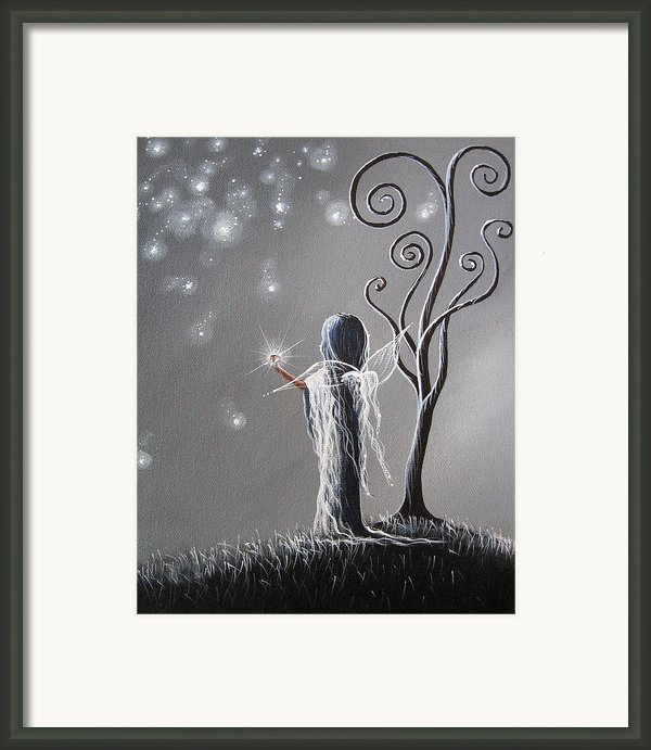 Diamond Fairy By Shawna Erback Framed Print By Shawna Erback