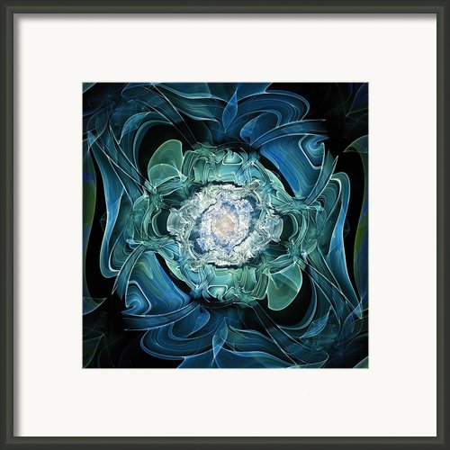Diamond Nest Framed Print By Anastasiya Malakhova