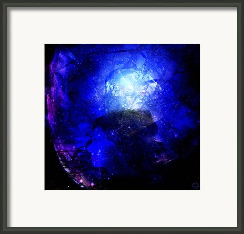 Diamond Queen Of The Night Framed Print By Gun Legler