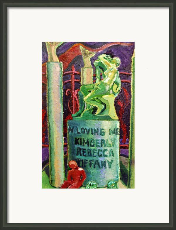 Did You Really Want To Hurt Me Framed Print By Michael Owens