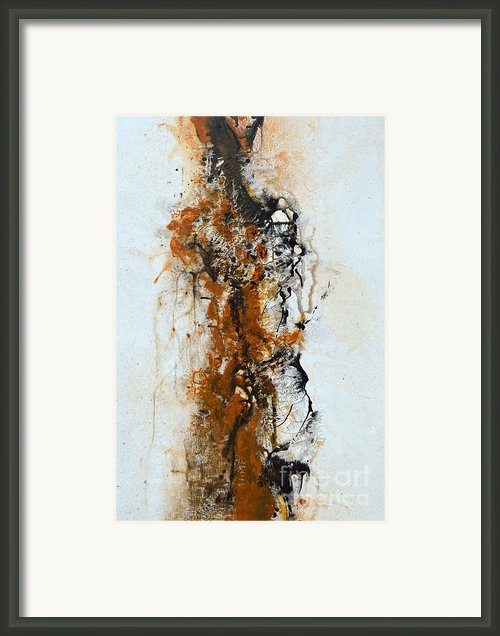 Die Trying - Abstract Framed Print By Ismeta Gruenwald
