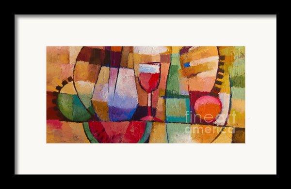 Dining Framed Print By Lutz Baar