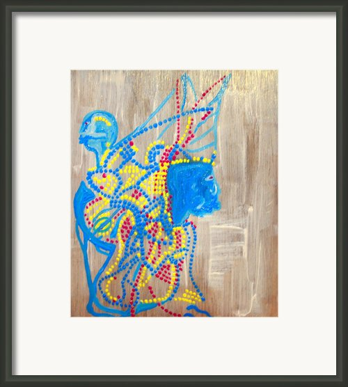 Dinka Angel Bride - South Sudan Framed Print By Gloria Ssali