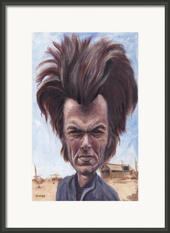 Dirty Hairy Framed Print By Mark Tavares