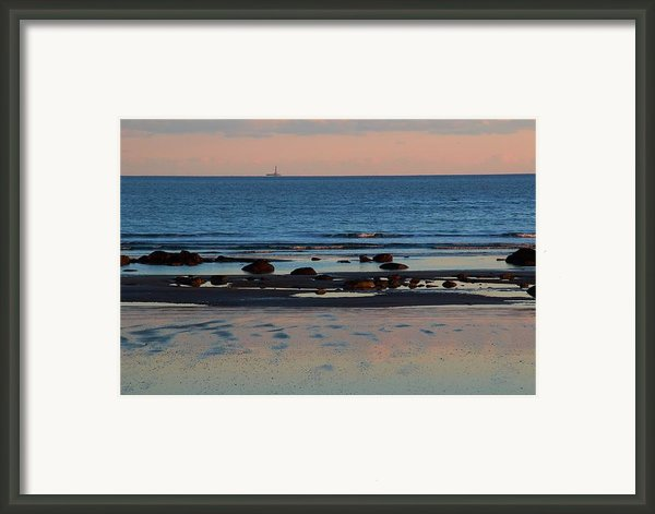 Distant Light Framed Print By Andrea Galiffi