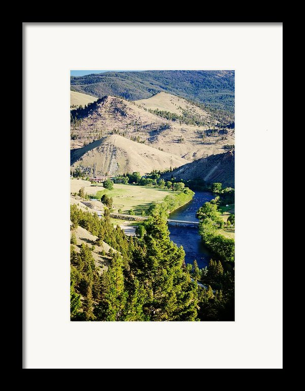 Divide Bridge Framed Print By Kevin Bone