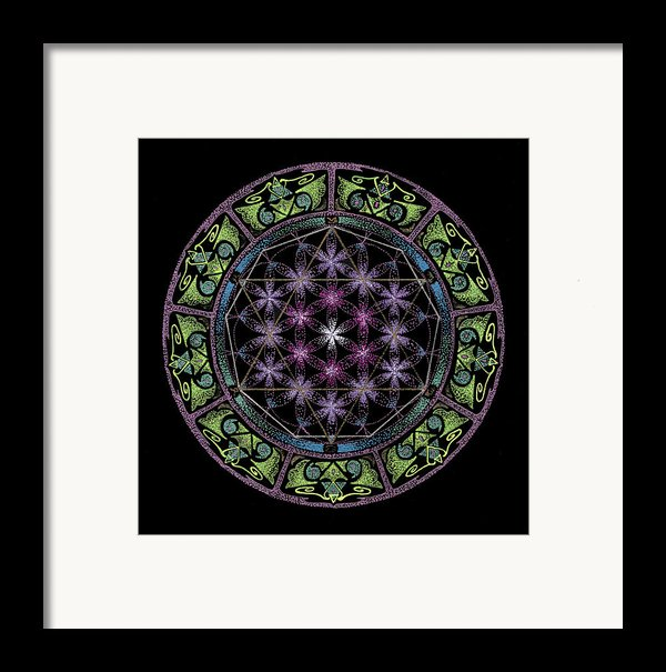 Divine Feminine Energy Framed Print By Keiko Katsuta