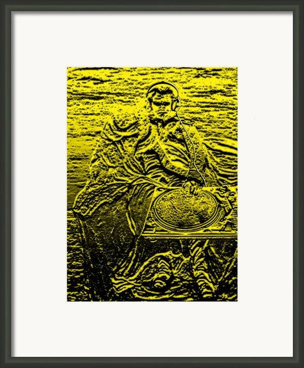 Dj Napoleon Framed Print By John W King