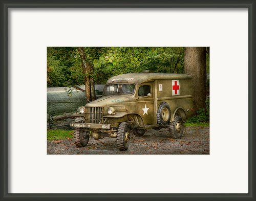 Doctor - Mash Unit  Framed Print By Mike Savad