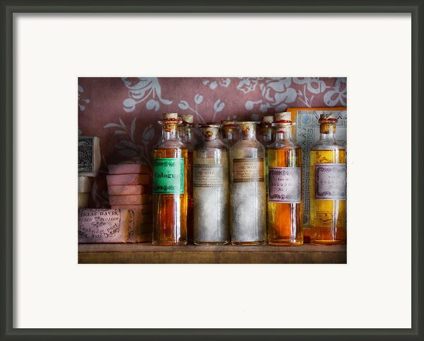 Doctor - Perfume - Soap And Cologne Framed Print By Mike Savad