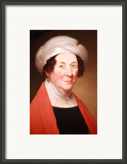 Dolley Madison Framed Print By Cora Wandel