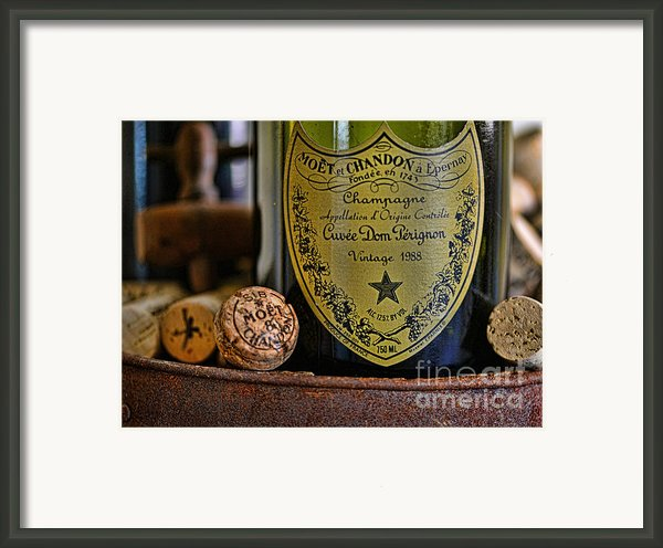 Dom Perignon  Framed Print By Paul Ward