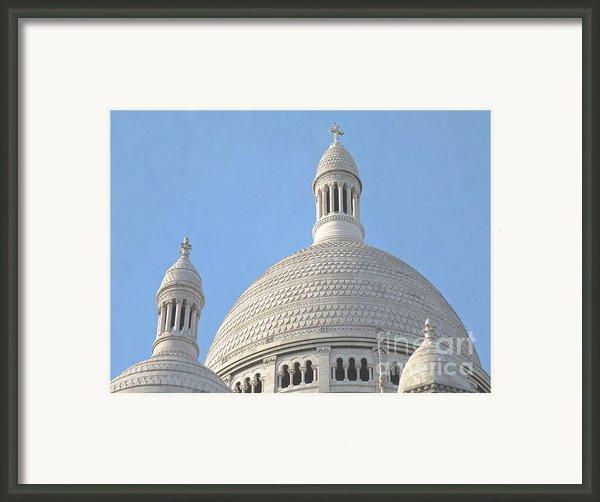 Dome Of Sacre-coeur Framed Print By Ann Horn