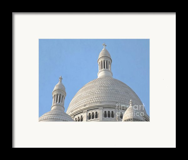 Dome Of Sacre-coeur Framed Print By Ann Horn
