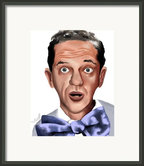 Don Knotts Framed Print By Letora Anderson
