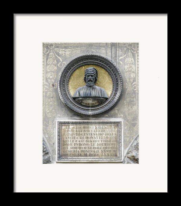 Donatello Framed Print By Karen Stephenson