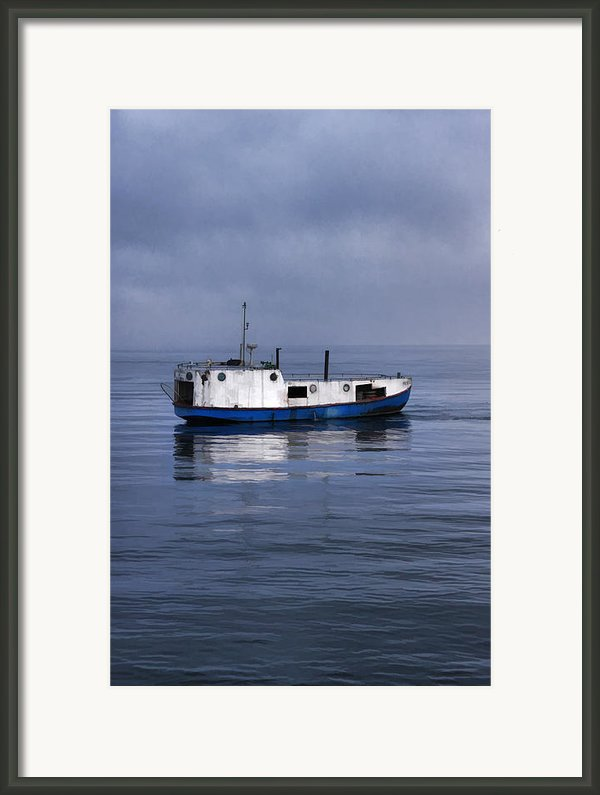 Door County Gills Rock Trawler Framed Print By Christopher Arndt