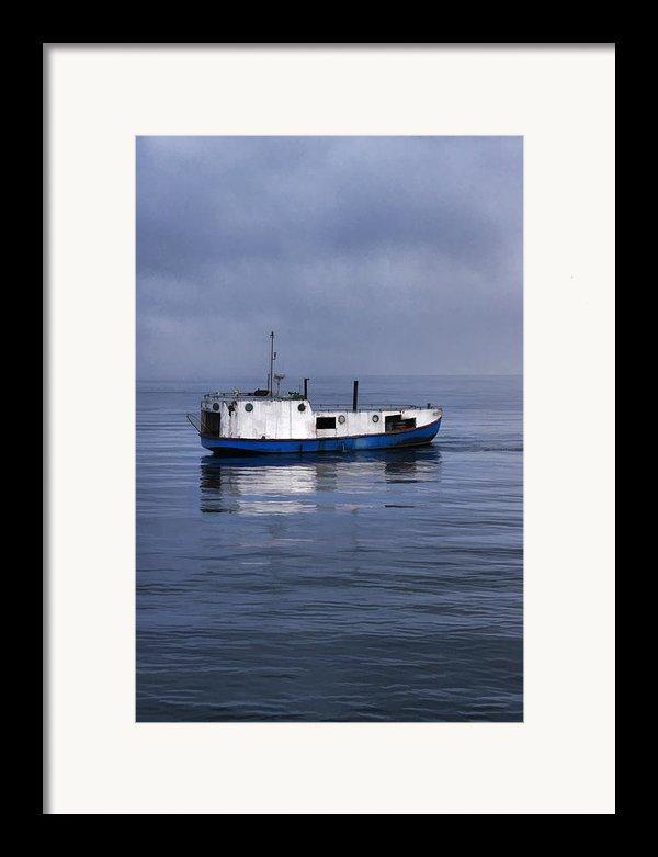 Door County Gills Rock Trawler Framed Print By Christopher Arndt