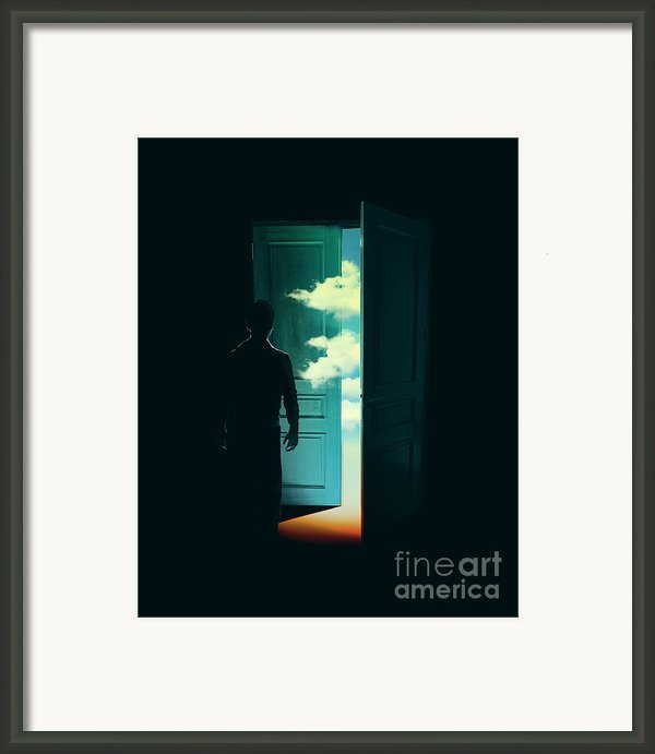 Door To The World Framed Print By Budi Satria Kwan