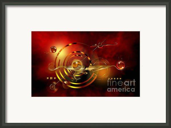 Dore Dans Le Universe Framed Print By Franziskus Pfleghart