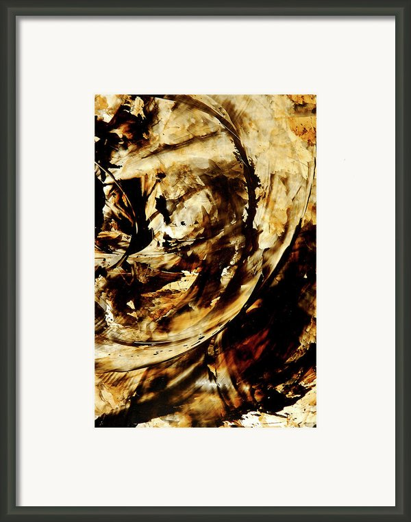Double Espresso Framed Print By Sharon Cummings