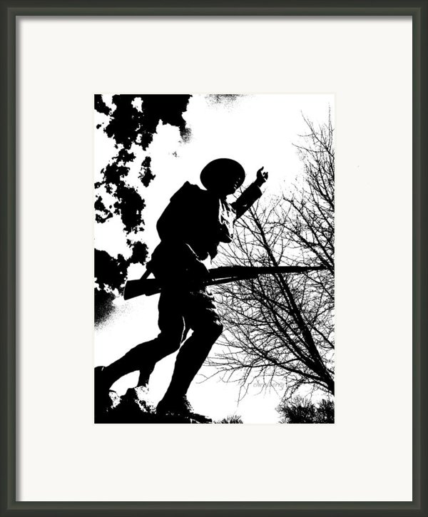 Doughboy Framed Print By Chris Berry