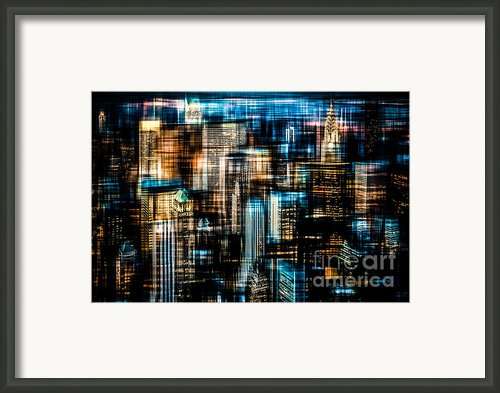 Downtown Ii - Dark Framed Print By Hannes Cmarits