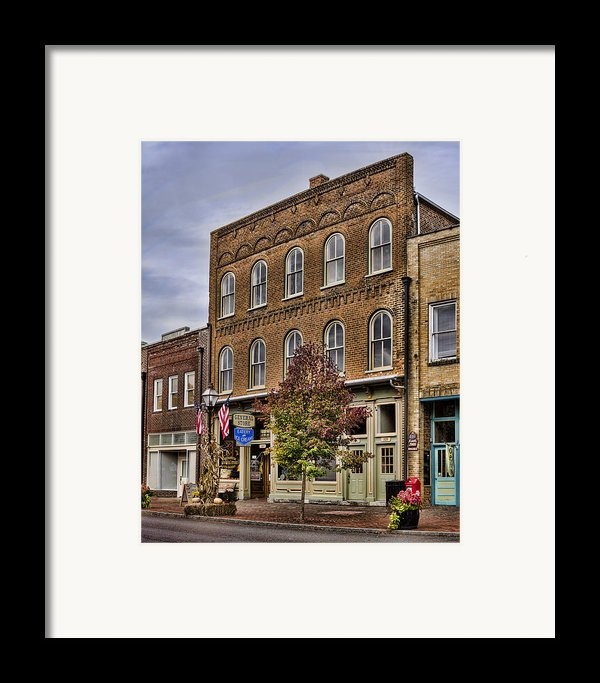 Dowtown General Store Framed Print By Heather Applegate