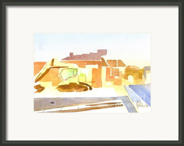 Dozing The Kozy    Framed Print By Kip Devore