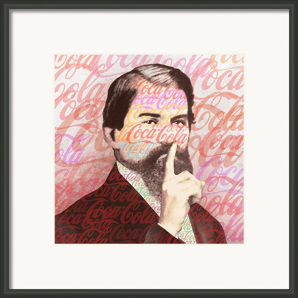 Dr. John Pemberton Inventor Of Coca-cola Framed Print By Tony Rubino