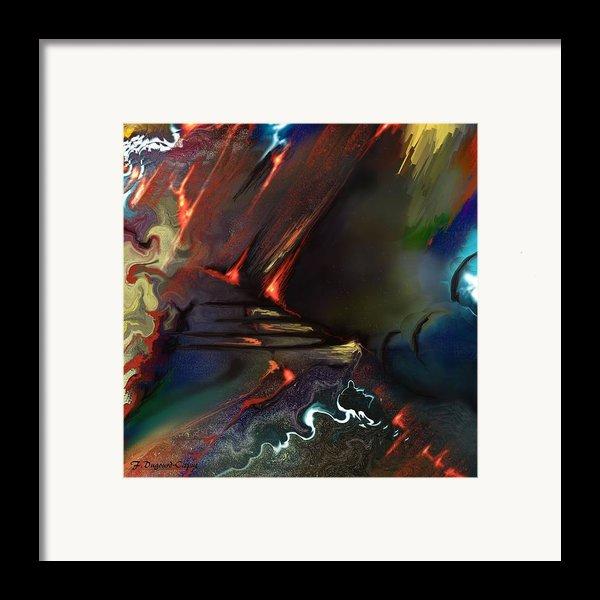 Dragonland Framed Print By Francoise Dugourd-caput