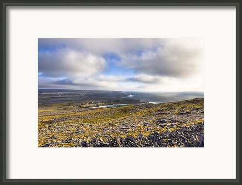 Dramatic Landscape Of The Aran Islands Framed Print By Mark E Tisdale