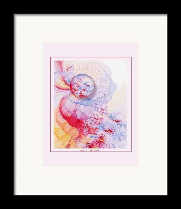 Dream Catcher Framed Print By Gayle Odsather